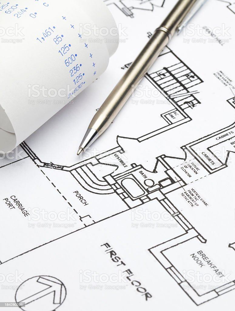 Home Improvement Costs royalty-free stock photo