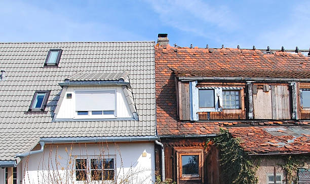home improvement - modernisierung vorher nachher - run down stock pictures, royalty-free photos & images
