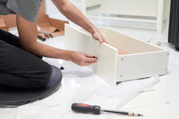 home improvements, is moving time stock photo