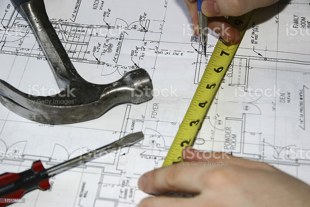 Home Improvements - Project Preparation III royalty-free stock photo