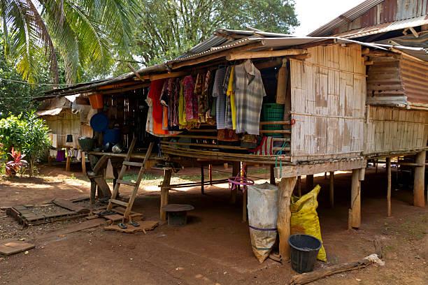Hause in einem Mo Dorf Kanchanaburi, Thailand – Foto