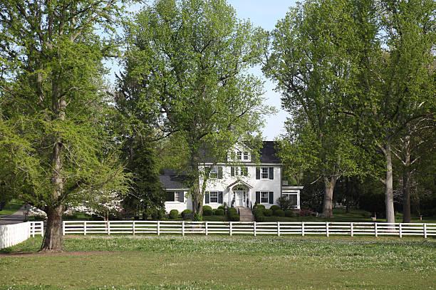 Home in Kentucky stock photo
