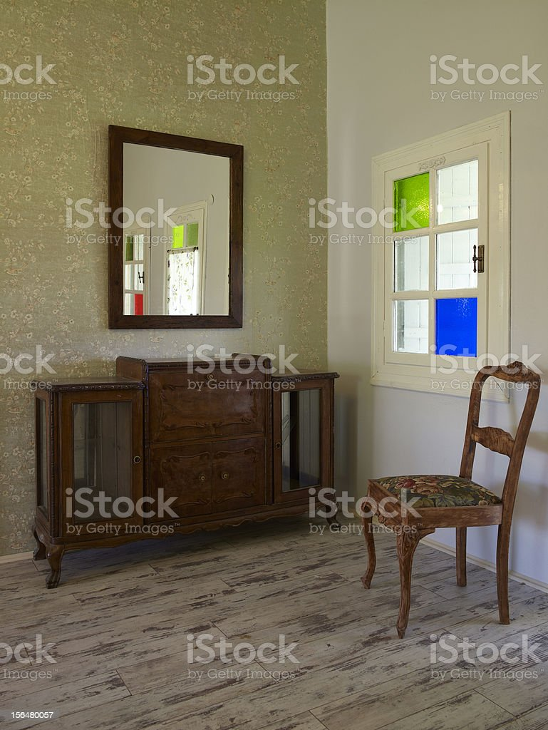 Home inside royalty-free stock photo