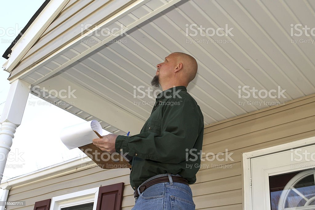 Home Inspector royalty-free stock photo