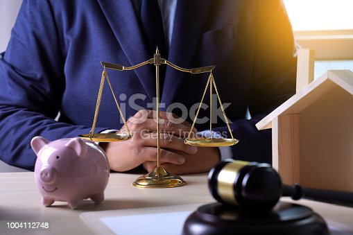 182148217istockphoto home insurance, Law and justice concept 1004112748