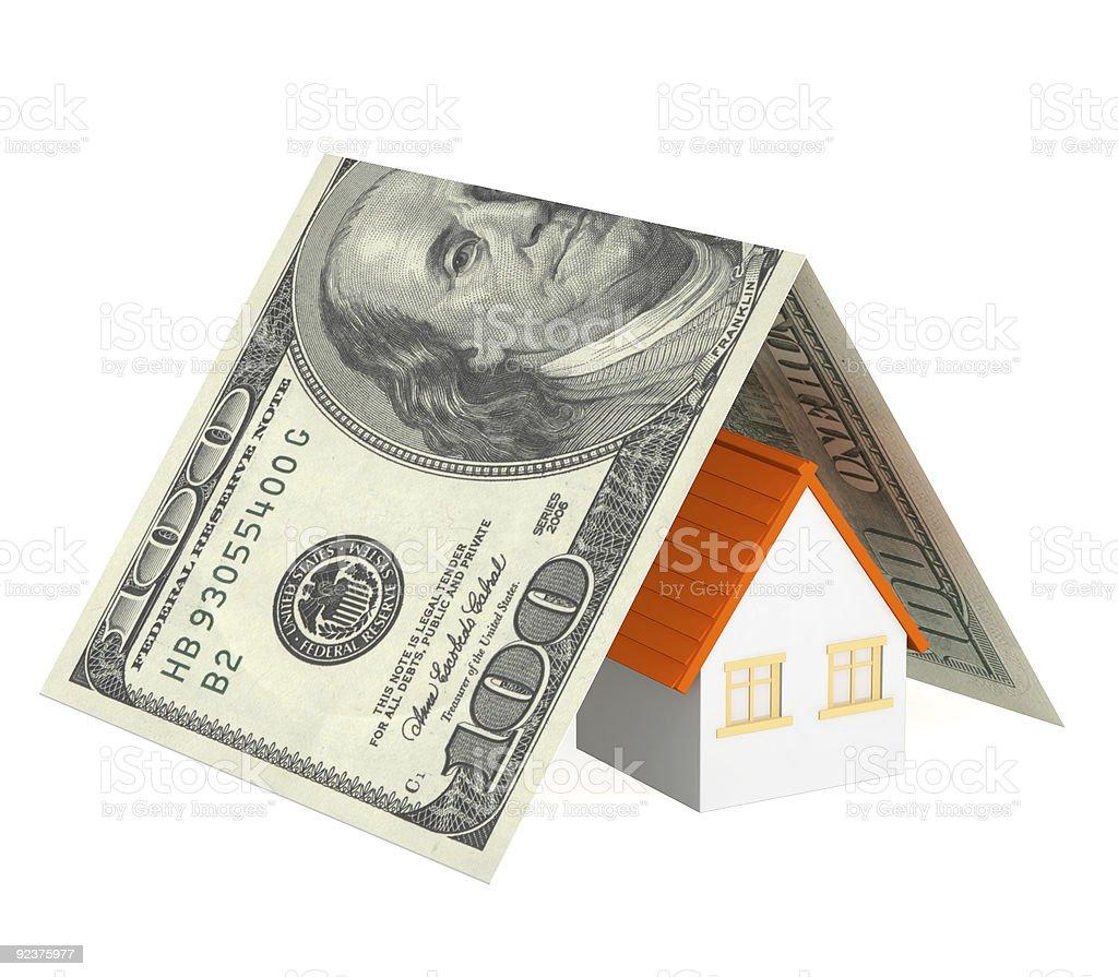 Home insurance royalty-free stock photo