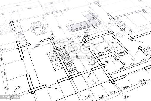 479023658 istock photo home interior blueprint 479019596