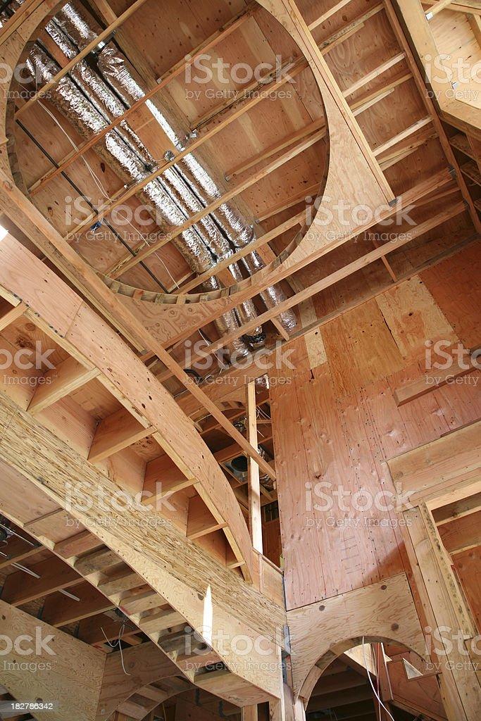Home Interior Construction royalty-free stock photo