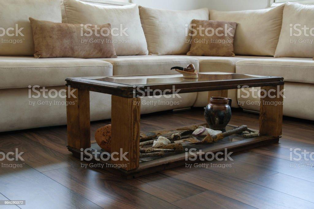 Interior Wohndesign Komfortable Moderne Sofa In Naturlichen Farben