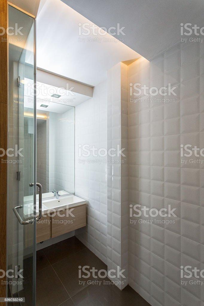 Casa de diseño interior foto de stock libre de derechos