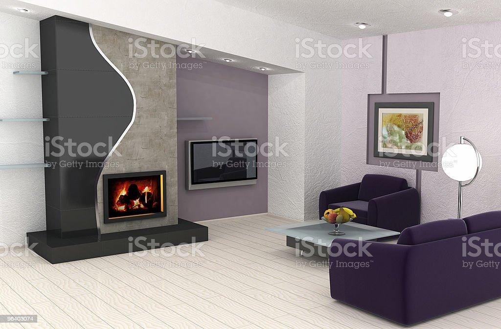 ホームインテリアデザイン - からっぽのロイヤリティフリーストックフォト