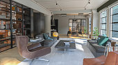 Home  interior Industrial Style