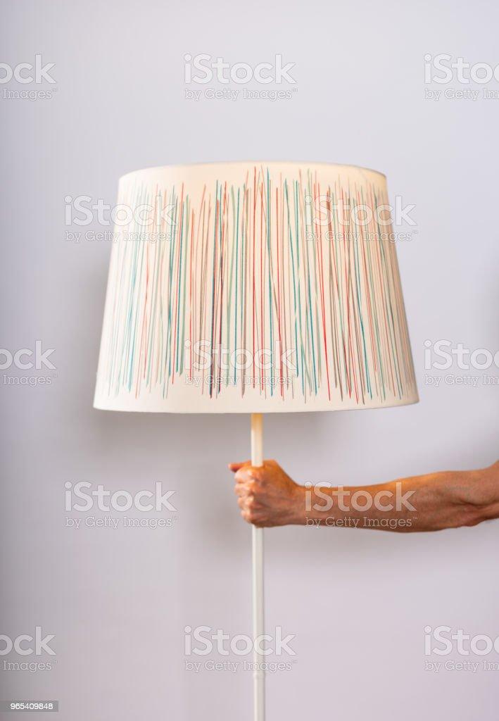 家用室內照明燈罩 - 免版稅住宅內部圖庫照片