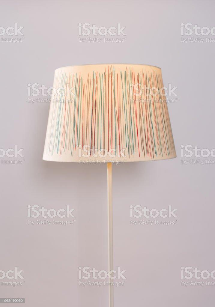 home interior lighting lampshade zbiór zdjęć royalty-free