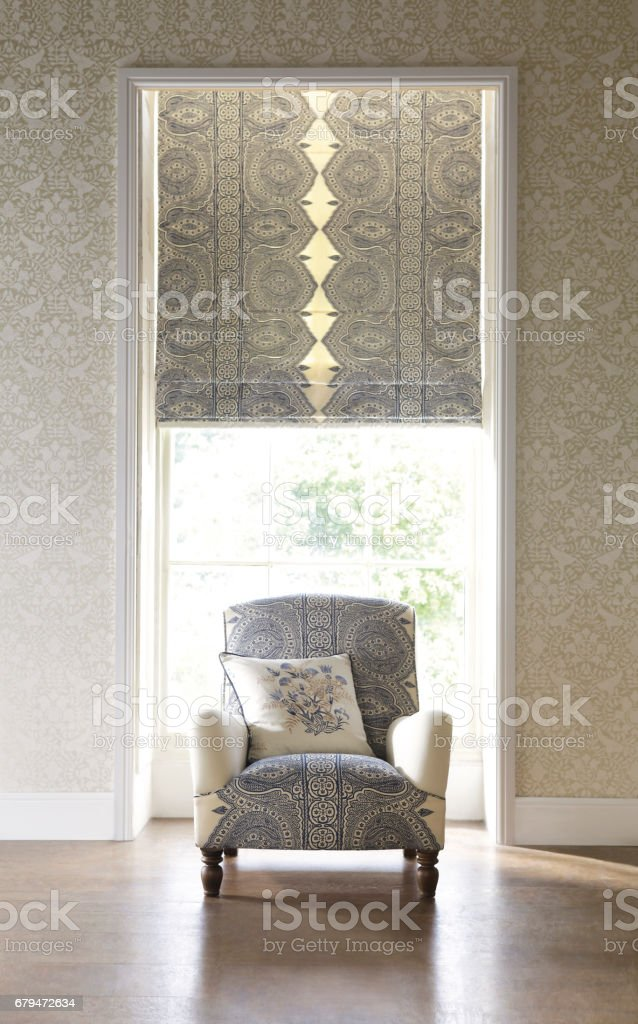 Home Interior of a contemporary living room with furniture 免版稅 stock photo