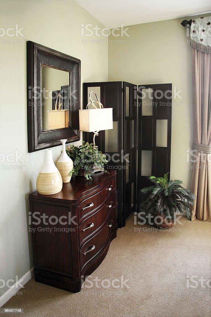 Home interior - Royalty-free Bedroom Stock Photo