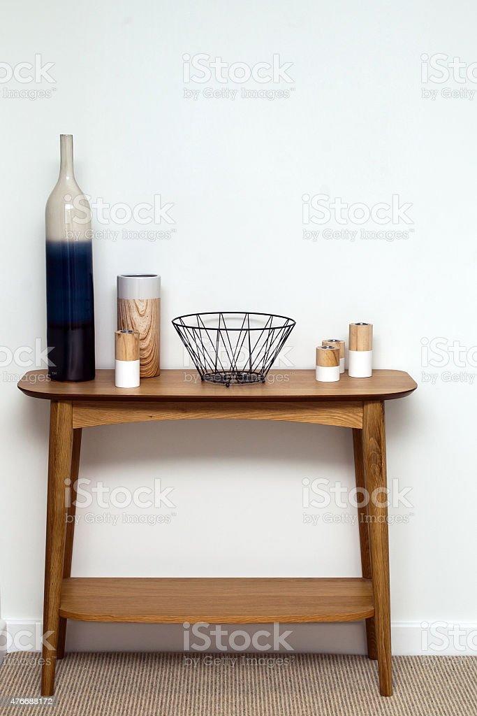 Home interior mit einem Tisch – Foto