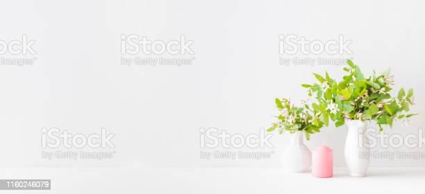 Home interior with decor elements branches with green leaves in a on picture id1160246079?b=1&k=6&m=1160246079&s=612x612&h=twoyvlnr 2i9w9x33gmfvrfemttskav5ff9ulbjm0de=