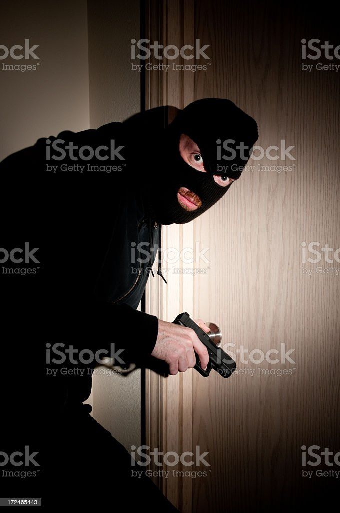 Home Invasion Concept royalty-free stock photo