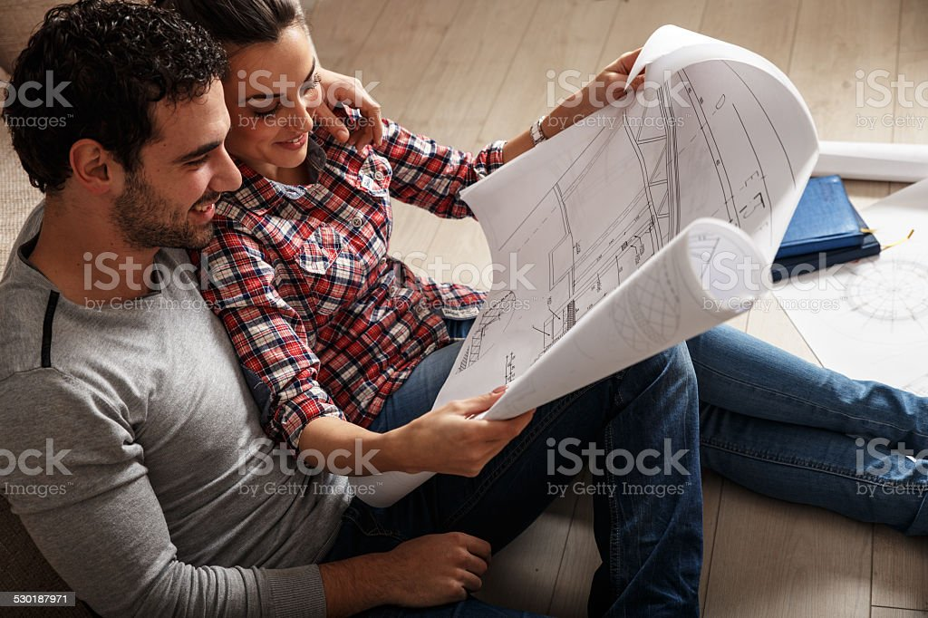 Home investment stock photo