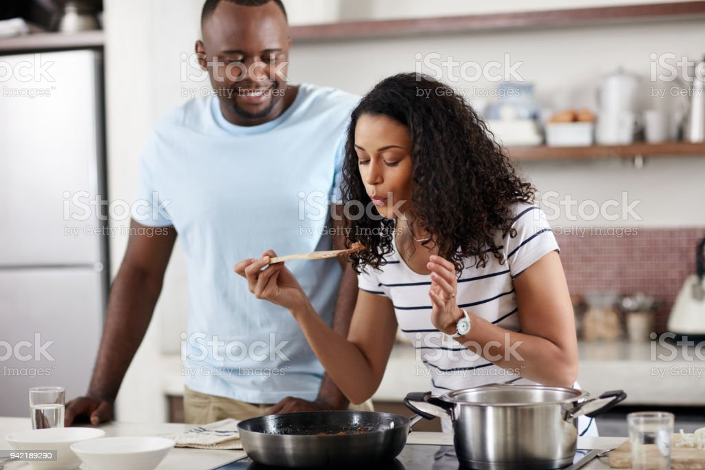 Home is where the food is stock photo