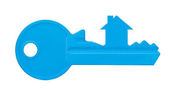 home key (개체 화이트 클리핑 경로를 - home 뉴스 사진 이미지