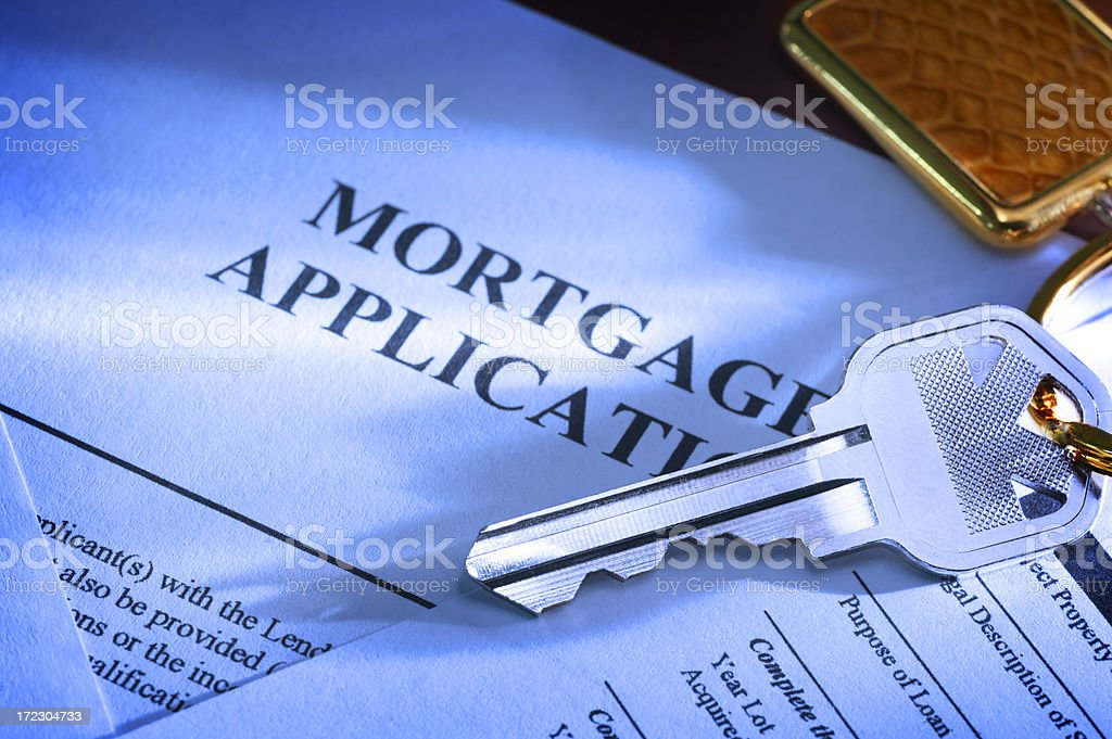 Home Loan royalty-free stock photo