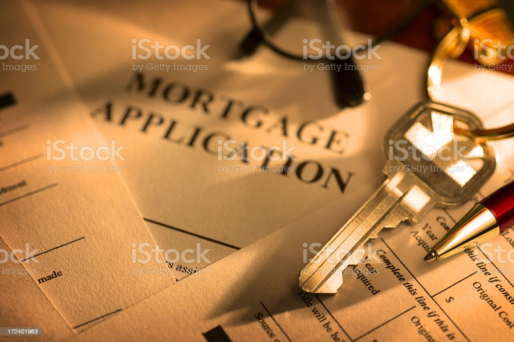 Home Loan royalty-free stock photo