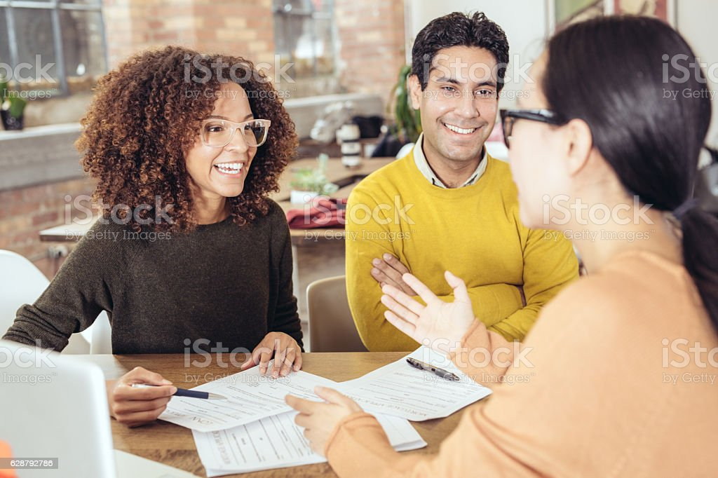 Home loans stock photo