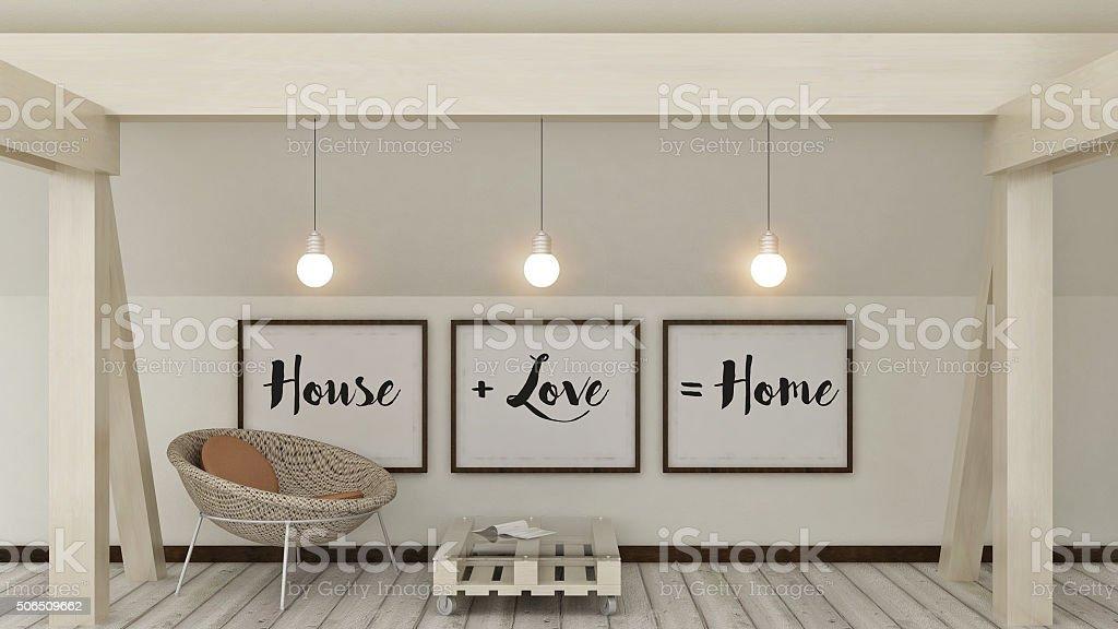 Hause, Liebe, Familie und Glück-Konzept. – Foto