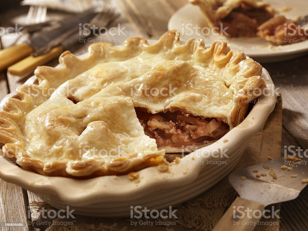 Home Made Apple Pie royalty-free stock photo