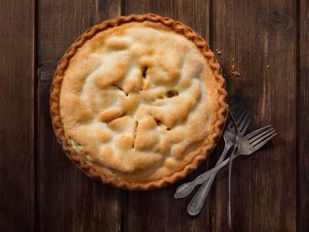 Home Made Apple Pie stock photo