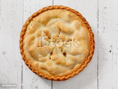 istock Home Made Apple Pie 845995348