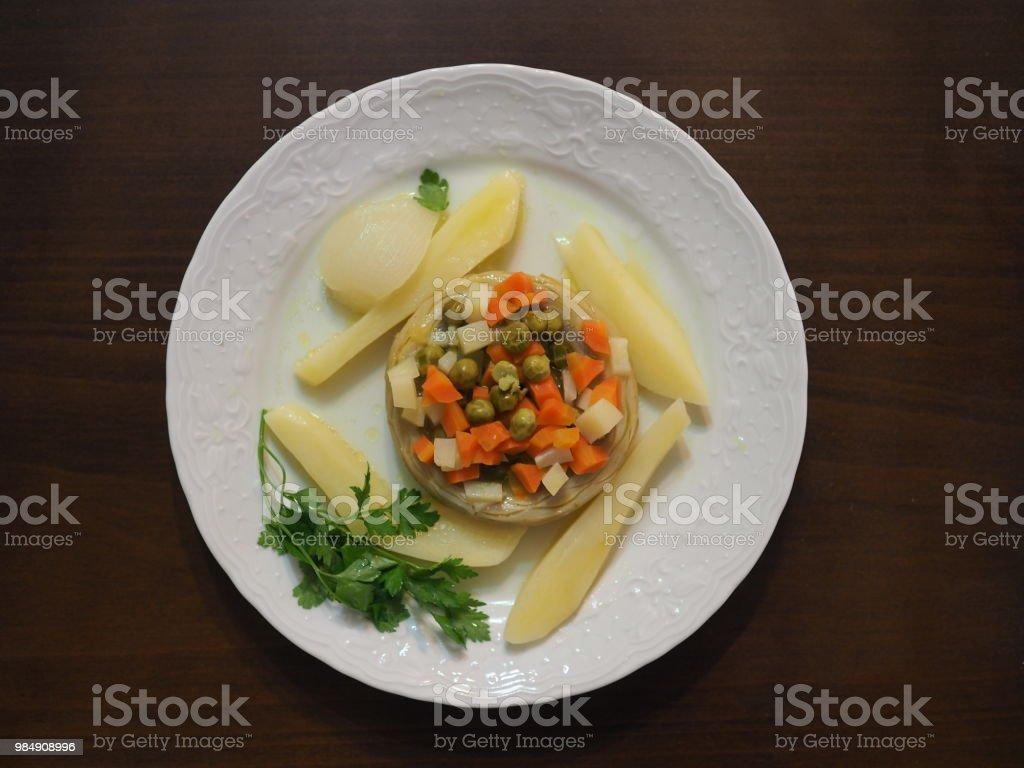 con que comer alcachofas