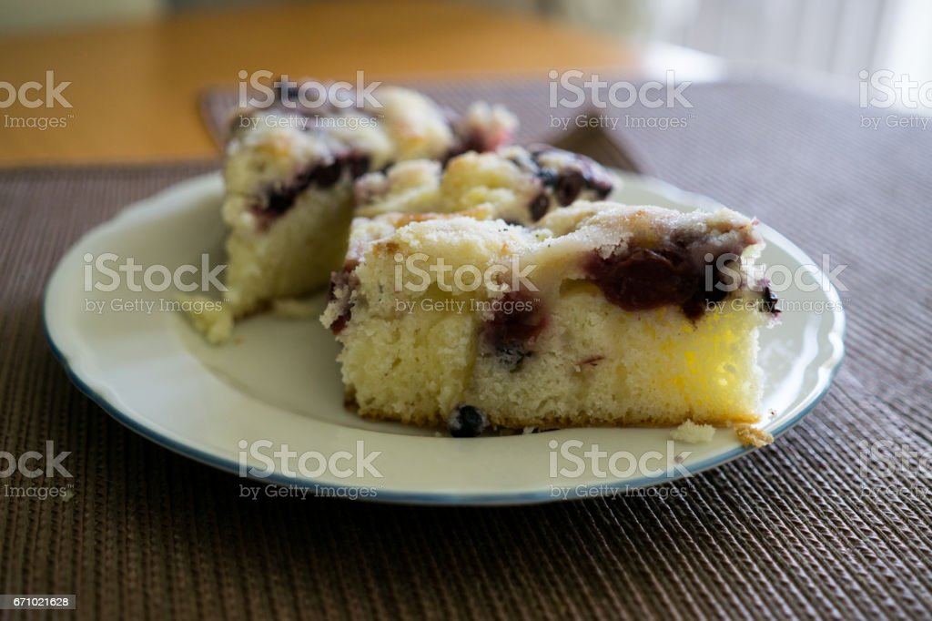 Home made cake stock photo
