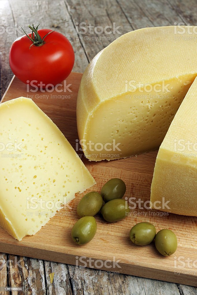 Home made cheese royalty-free stock photo