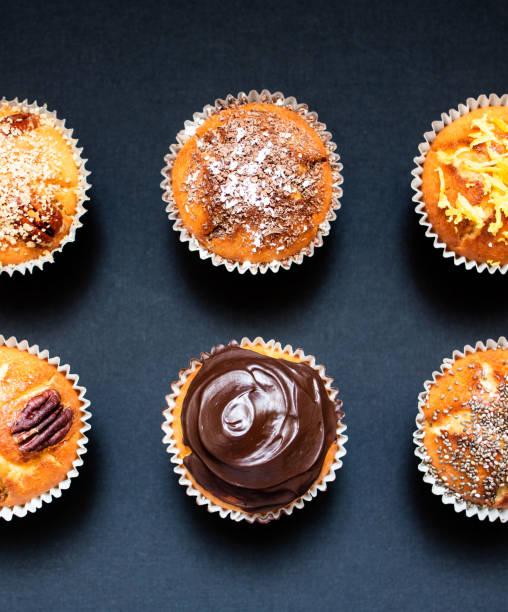 Eigen-hausgemachte Cupcakes – Foto