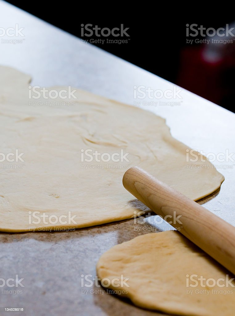 Home made dough royalty-free stock photo