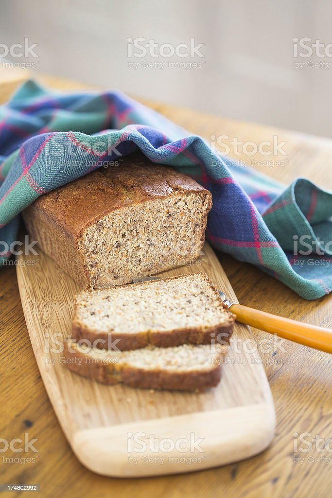 Home Made Quick Bread royalty-free stock photo