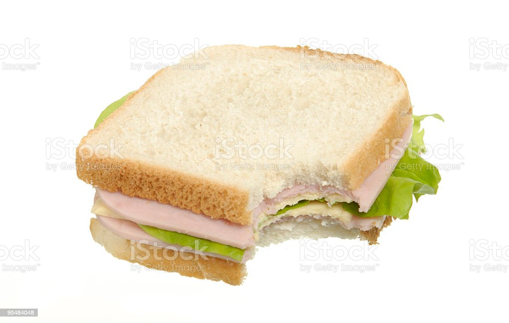 home made sandwich royalty-free stock photo