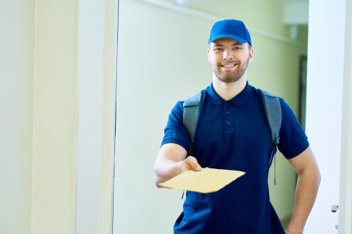 Home Mail Delivery Stock Photo - Download Image Now