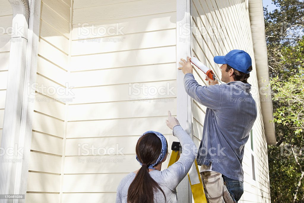 Home maintenance stock photo
