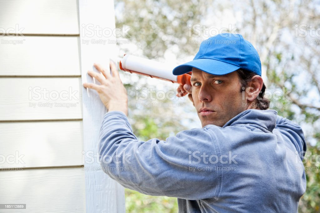 Home maintenance stock photo