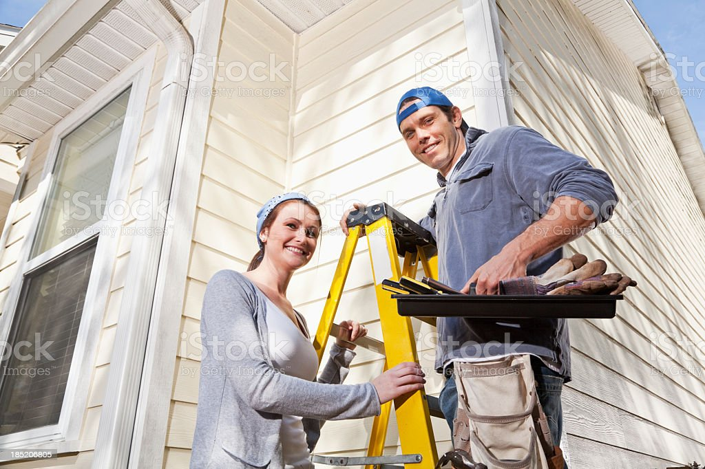 Home maintenance royalty-free stock photo
