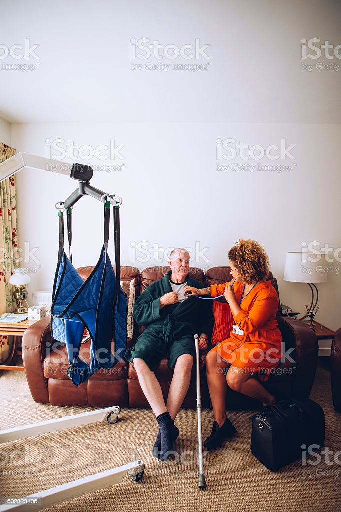 Home Medical Exam stock photo