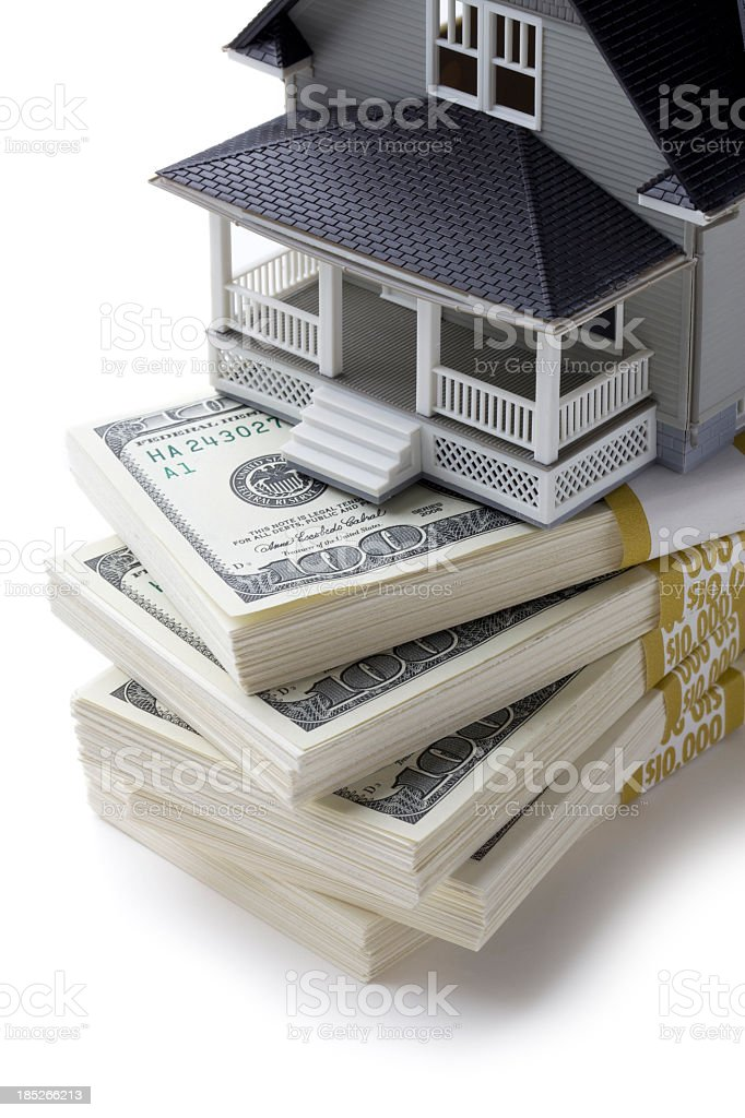 Home Mortgage royalty-free stock photo