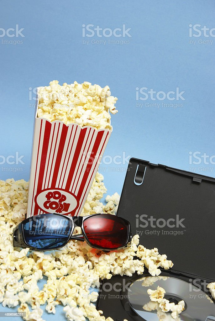 Home Movie stock photo