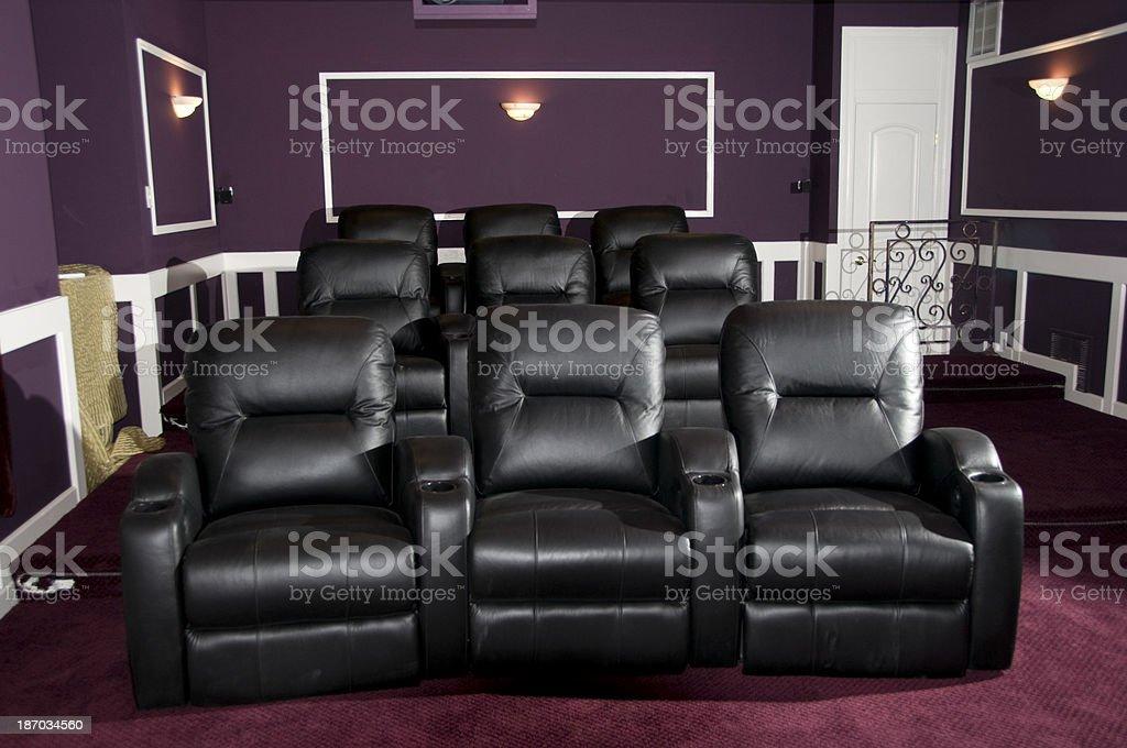 Home Movie Theatre Seats Stock Photo 187034560 Istock