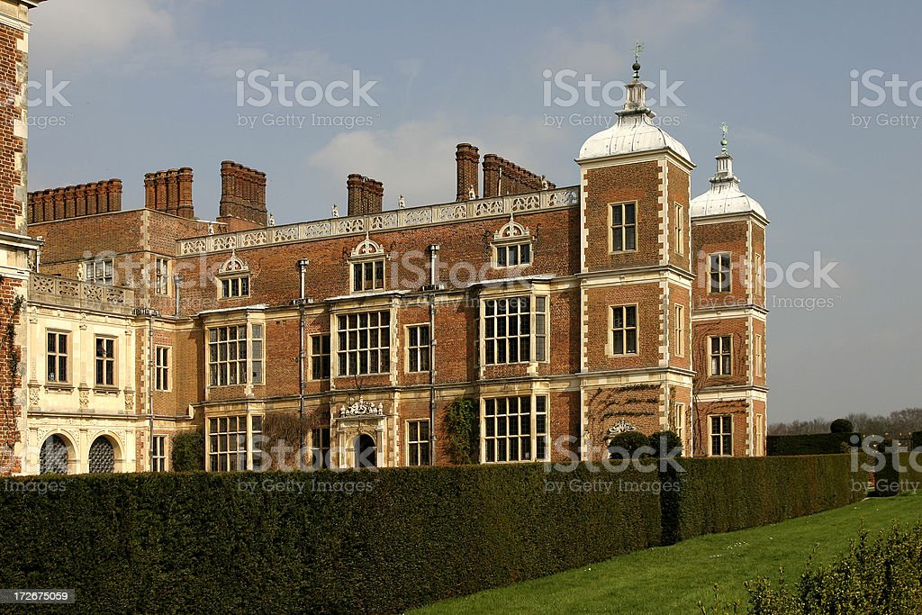 Home of Elizabeth the First of England royalty-free stock photo