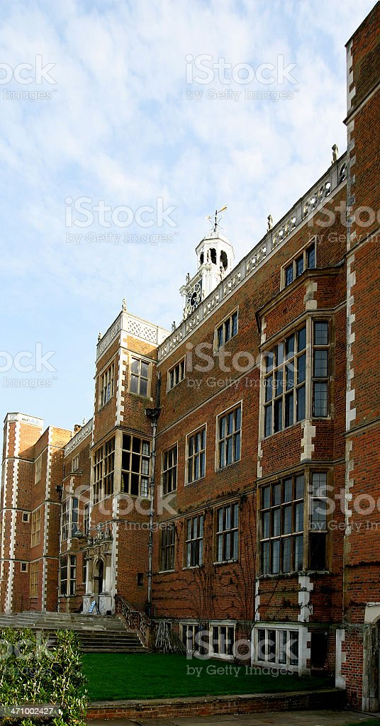 Home of Elizabeth the First royalty-free stock photo